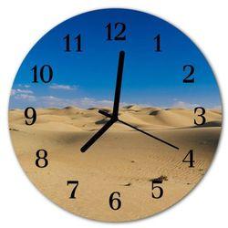 Zegar ścienny okrągły Pustkowie