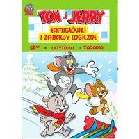 Tom i Jerry. Łamigłówki i zabawy logiczne. Zielona + zakładka do książki GRATIS, praca zbiorowa