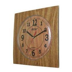 Zegar ścienny kwadrat /dąb marki Atrix