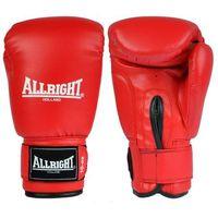 Allright Rękawice bokserskie  pvc - czerwone