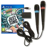 Sony Just sing+mikrofony singstar