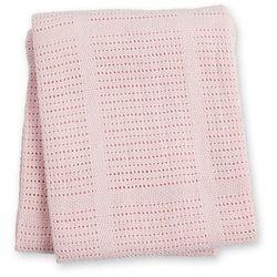 Lulujo Kocyk Bawełniany Tkany Pink, LJ751