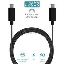 PURO Type-C Charge & Sync Cable - Kabel USB-C 3.1 na USB-C 3.1 do ładowania & synchronizacji danych, 3A, 10 G