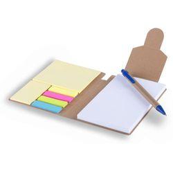 Notatnik zestaw do notatek Memo w 5 kolorach (2010000193402)
