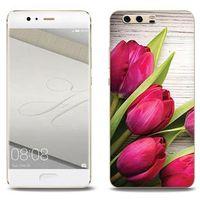 Foto Case - Huawei P10 Plus - etui na telefon Foto Case - czerwone tulipany