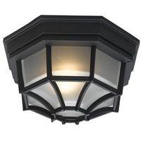 Eglo  5389 - lampa sufitowa plafon zewnętrzny laterna 7 1xe27/100w czarny