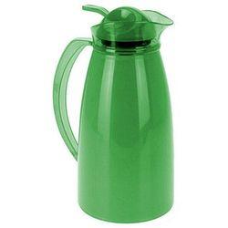 Kolorowy termos z wkładem szklanym - 1 l