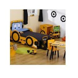 ® biurko z krzesłem z serii koparka jcb™ wyprodukowany przez Kidsaw