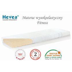 Hevea Materac wysokoelastyczny fitness + poduszka 45/45 gratis!