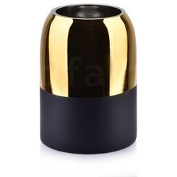Rita gold wazon 12x12x16cm marki Sofa.pl
