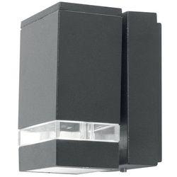 Elstead Ogrodowa lampa ścienna jannik led1 zewnętrzna oprawa metalowa led 3,8w kinkiet outdoor ip44 szary