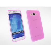 FLEXmat Case - Samsung Galaxy J5 - etui na telefon - różowy