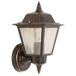 Elstead Zewnętrzna lampa ścienna highnam gzh/hn1  kinkiet oprawa ogrodowa ip44 outdoor patyna