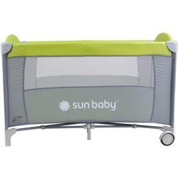Łóżeczko jednopoziomowe Sweet Dreams zielone Sun Baby SD707/GZ - sprawdź w wybranym sklepie
