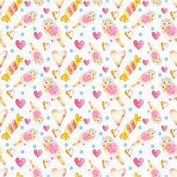 Magiczna kartka Ozdobny papier kraina słodkości 30,5x30,5 cm - 01 - 02