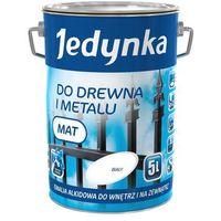 Emalia alkidowa do drewna i metalu biały mat 5.0l darmowa dostawa marki Jedynka