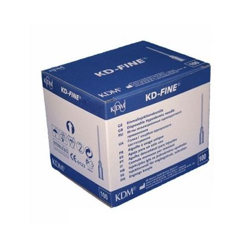 Igła, igły iniekcyjne KD Medical - Fine j.u. 0,6 x 30mm 100szt. (igła do strzykawki)