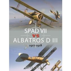Spad vii vs albatros d III 1917-1918, pozycja z kategorii Historia