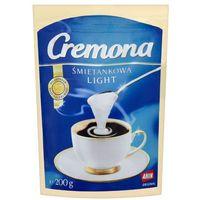 200g śmietankowa light zabielacz do kawy i herbaty marki Cremona