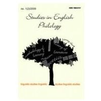 Studies in English Philology nr 2 rok 2009, A.Wichra