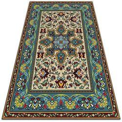 Piękny dywan ogrodowy piękny dywan ogrodowy kolorowe wzory geometryczne marki Dywanomat.pl
