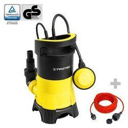 Trotec Pompa zanurzeniowa do wody brudnej twp 4025 e + przedłużacz jakościowy 15 m / 230 v / 1,5 mm²