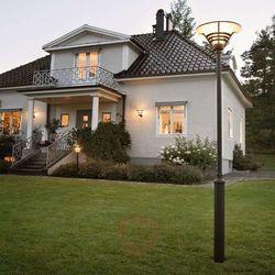 gemini lampy stojące czarny, 1-punktowy - nowoczesny/klasyczny - obszar zewnętrzny - gemini - czas dostawy:
