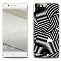 Etuo.pl Fantastic case - huawei p10 plus - etui na telefon fantastic case - biało-czarna mozaika