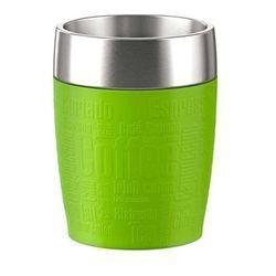 Emsa,Termos - Filiżanka - Kubek do Samochodu, Travel Cup, poj. 0,2 litra, kolor limonkowy, nr 514516