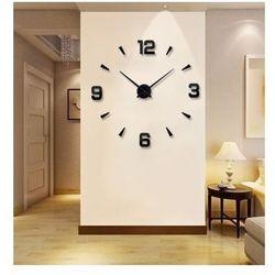 Ogromny zegar ścienny 3d (regulowana średnica od 70-150cm!!) - w 2 kolorach do wyboru. marki Creativehome