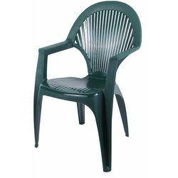 Krzesło Syrena zielone 57x58x90 cm
