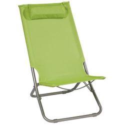Krzesło plażowe limonka (4048124783399)
