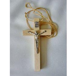 Produkt polski Krzyż lektorski drewniany, jasny