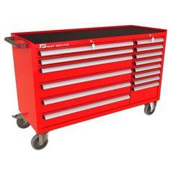 Wózek warsztatowy MEGA z 14 szufladami PM-214-16 (5904054408186)