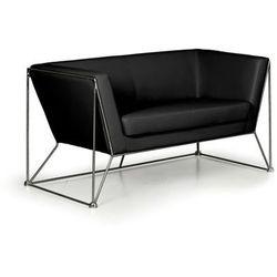 Sofa NET, 2-osobowa, czarna