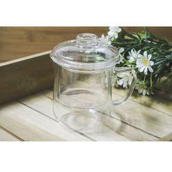 GIARDINO HOME Szklany kubek 350 ml do parzenia ziół SUPER PROMOCJA