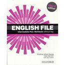 English File Intermediate Plus. Ćwiczenia bez Klucza + CD, oprawa miękka