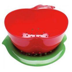 Zak! - Durszlak jabłko z podst., czerwono-zielony, kup u jednego z partnerów