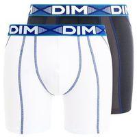 DIM 3D FLEX AIR 2 PACK Panty blanc/bleu/gris