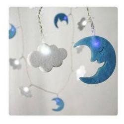 Sznur Lampek LED Moon & Cloud
