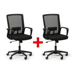 Krzesło biurowe base 1+1 gratis, czarne marki B2b partner
