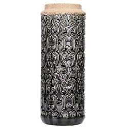 wazon ruxton wys. 37cm, 14x14x37cm marki Dekoria