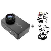 Xiaomi Kamera Xiaoyi Yi Action 2 czarna + Akcesoria