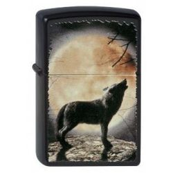 Zapalniczka  wolf howling to the moon 60001355 wyprodukowany przez Zippo