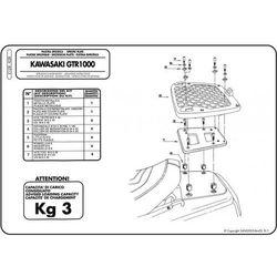 GIVI E128 STELAŻ KUFRA CENTRALNEGO KAWASAKI GTR 1000 - produkt dostępny w StrefaMotocykli.com