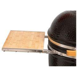 Grill ceramiczny Monolith DUŻY ZESTAW, bordowy, ruszt 46 cm - oferta [6559407657d523b2]