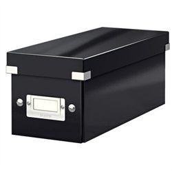 Pudło uniwer. LEITZ Click 6041 małe - czarne, 60410095