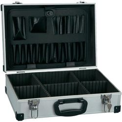 Alutec Walizka narzędziowa bez wyposażenia, uniwersalna  61000 (dxsxw) 430 x 315 x 140 mm