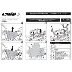 Owiewka PUIG do Yamaha FZ8 N (pozostałe kolory) z kategorii owiewki motocyklowe