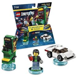 Lego dimensions midway retro gamer level pack, marki Warner brothers entertainment